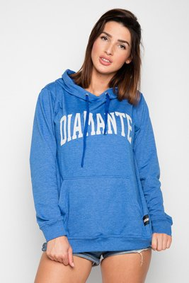 Bluza Diamante College niebeiska