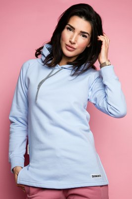 Bluza Diamante Wear Basic błękitna