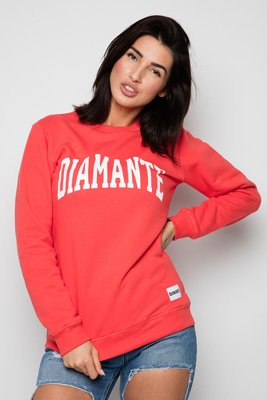 Bluza Diamante Wear College koralowa
