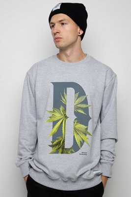 Bluza Diamante Wear D-Weed szara