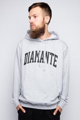 Bluza Diamante Wear Diamante College szara