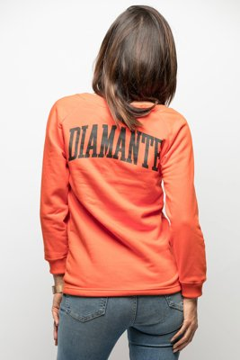 Bluza Diamante Wear Natural Born Optimist pomarańczowa