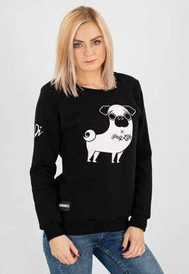 Bluza Diamante Wear Pug Life czarna