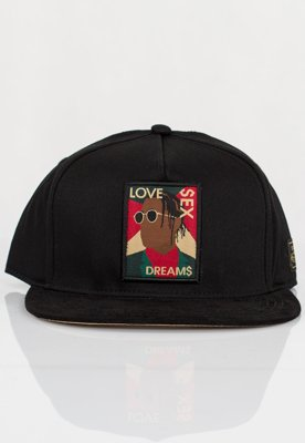 Czapka Snapback Cayler & Sons Dream$ czarna