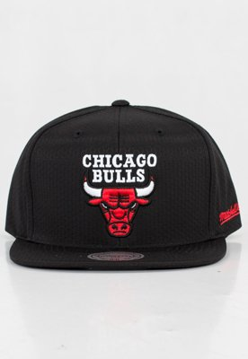 Czapka Snapback Mitchell & Ness NBA Black Riptop Honeycomb Chicago Bulls