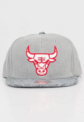 Czapka Snapback Mitchell & Ness NBA Cracked Chicago Bulls