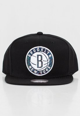 Czapka Snapback Mitchell & Ness NBA Dark Hologram Brooklyn Nets