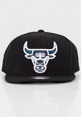 Czapka Snapback Mitchell & Ness NBA Dark Hologram Chicago Bulls