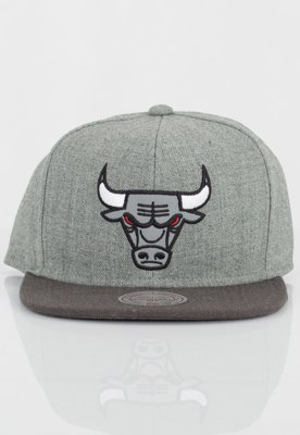 Czapka Snapback Mitchell & Ness NBA Heather Reflective Chicago Bulls