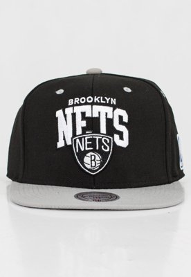 Czapka Snapback Mitchell & Ness NBA Team Arch Brooklyn Nets