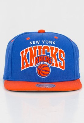 Czapka Snapback Mitchell & Ness NBA Team Arch Knicks