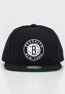 Czapka Snapback Mitchell & Ness NBA Wool Solid Brooklyn Nets