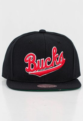 Czapka Snapback Mitchell & Ness NBA Wool Solid Bucks