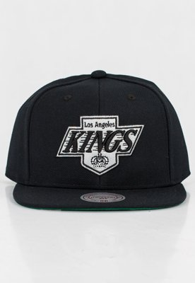 Czapka Snapback Mitchell & Ness NBA Wool Solid Kings czarna