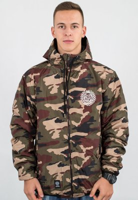 Kurtka Mass Base woodland camo
