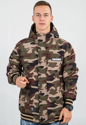 Kurtka Mass District Jacket woodland camo