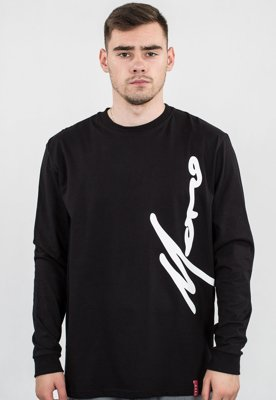 Longsleeve Moro Sport Big Paris Side czarny