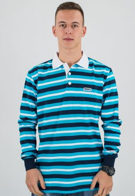 Longsleeve Prosto Polo Long Next niebieski