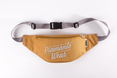 Nerka Diamante Wear Diamante Logo BIG brudno złoto szara