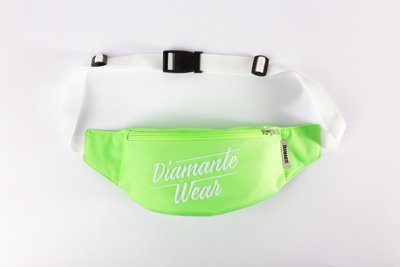 Nerka Diamante Wear Diamante Logo BIG neonowo zielona
