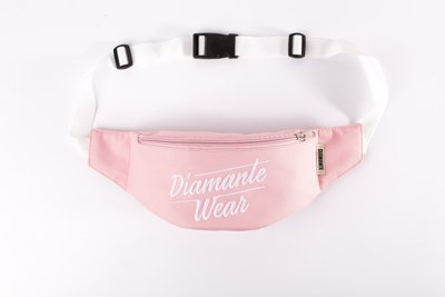 Nerka Diamante Wear Diamante Logo BIG pudrowo różowa