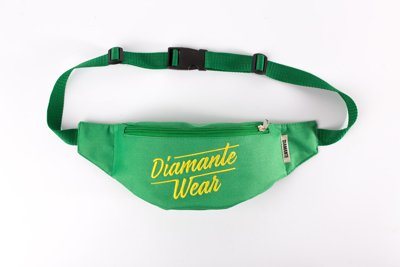 Nerka Diamante Wear Diamante Logo BIG zielono żółta