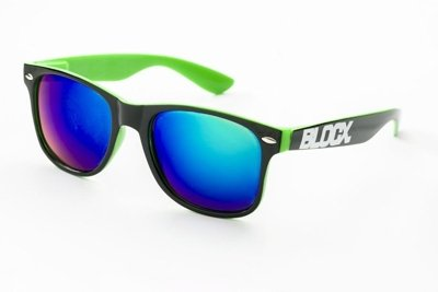 Okulary Blocx Black x Green P7 309