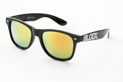 Okulary Blocx Black x Mirror Orange P1 302