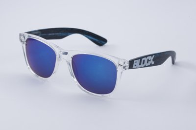 Okulary Blocx Black x Wood P34 319