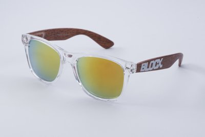 Okulary Blocx Black x Wood P34 320