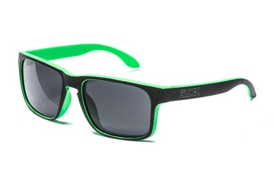 Okulary Blocx Freestyle Black x Green Polarized 039
