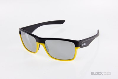 Okulary Blocx Shark Black x Yellow Mirror Silver 2015 90
