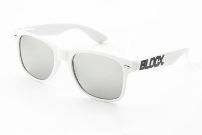 Okulary Blocx White x Silver P2 304