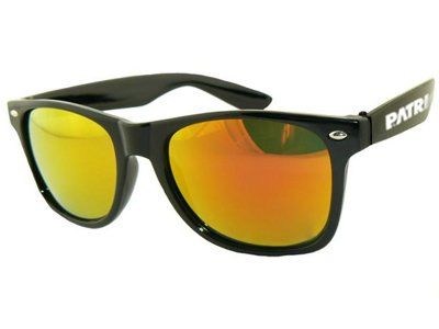 Okulary Patriotic Classic Black Gold 7761