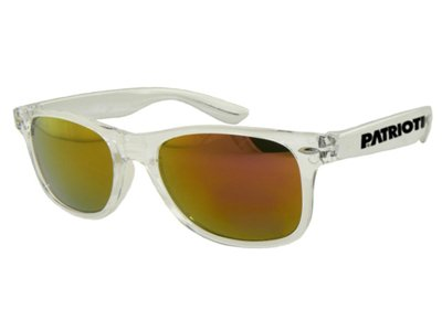 Okulary Patriotic Glass Gold Silver 695