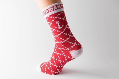 Skiety Diamante Wear Anchor Red