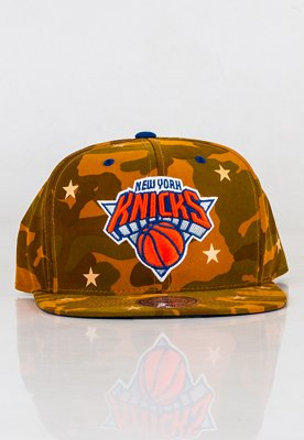 Snap Mitchell & Ness NBA Camo Star Knicks
