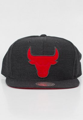 Snap Mitchell & Ness NBA Cut Heather Chicago Bulls