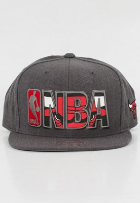Snap Mitchell & Ness NBA Insider Reflective Chicago Bulls