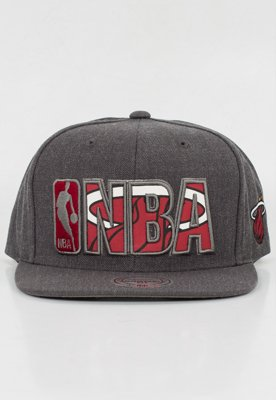 Snap Mitchell & Ness NBA Insider Reflective Miami Heat