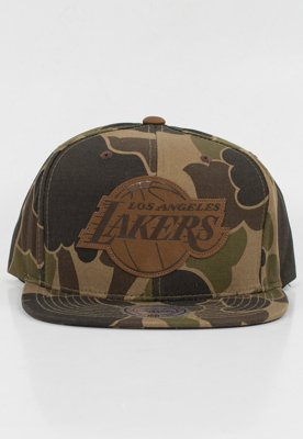 Snap Mitchell & Ness NBA Lux Camo LA Lakers
