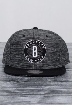Snap Mitchell & Ness NBA Prime Brooklyn Nets szaro czarny