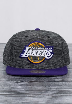 Snap Mitchell & Ness NBA Prime LA Lakers szaro fioletowy