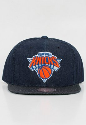 Snap Mitchell & Ness NBA Raw Denim Knicks