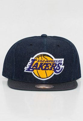 Snap Mitchell & Ness NBA Raw Denim LA Lakers