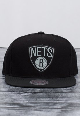 Snap Mitchell & Ness NBA Serve Brooklyn Nets czarny