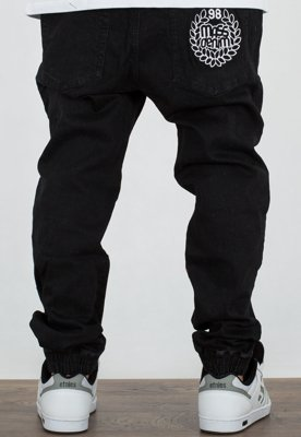 Spodnie Mass Jogger Fang Trap Fit black