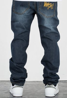 Spodnie Mass Signature Tapered Fit dark blue