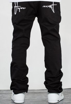 Spodnie Stoprocent Slim Low Classic black