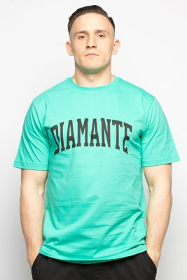 T-shirt Diamante Wear Diamante College miętowy